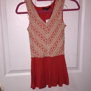 Red Top LORD & TAYLOR